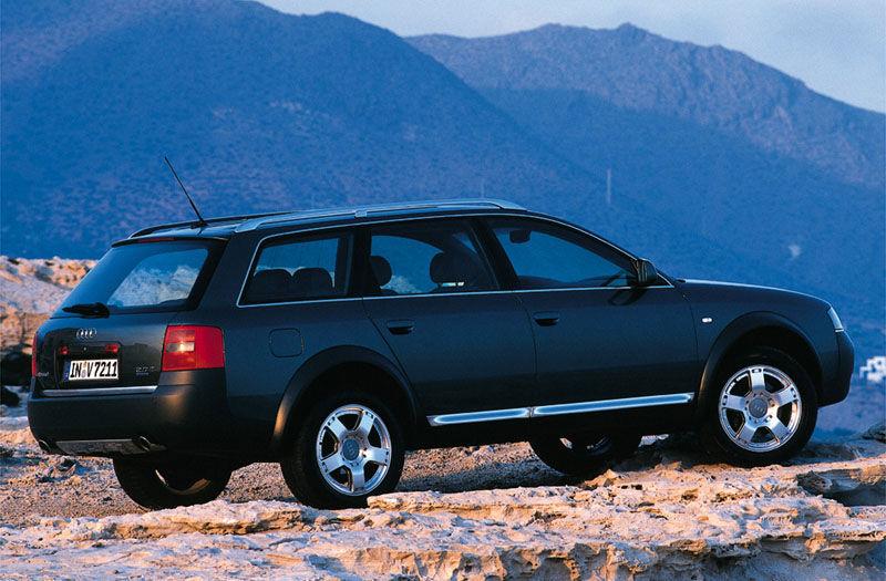 Audi A6 Allroad quattro 2.5 TDI C5 (2000) — Parts & Specs