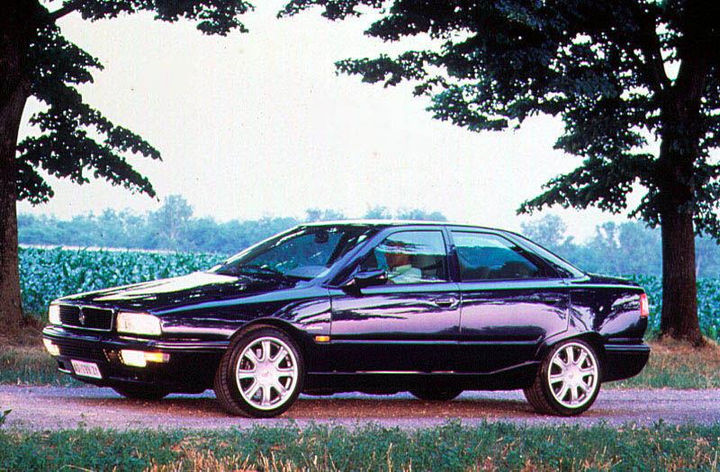 Maserati Quattroporte V8 (1996) — Parts & Specs