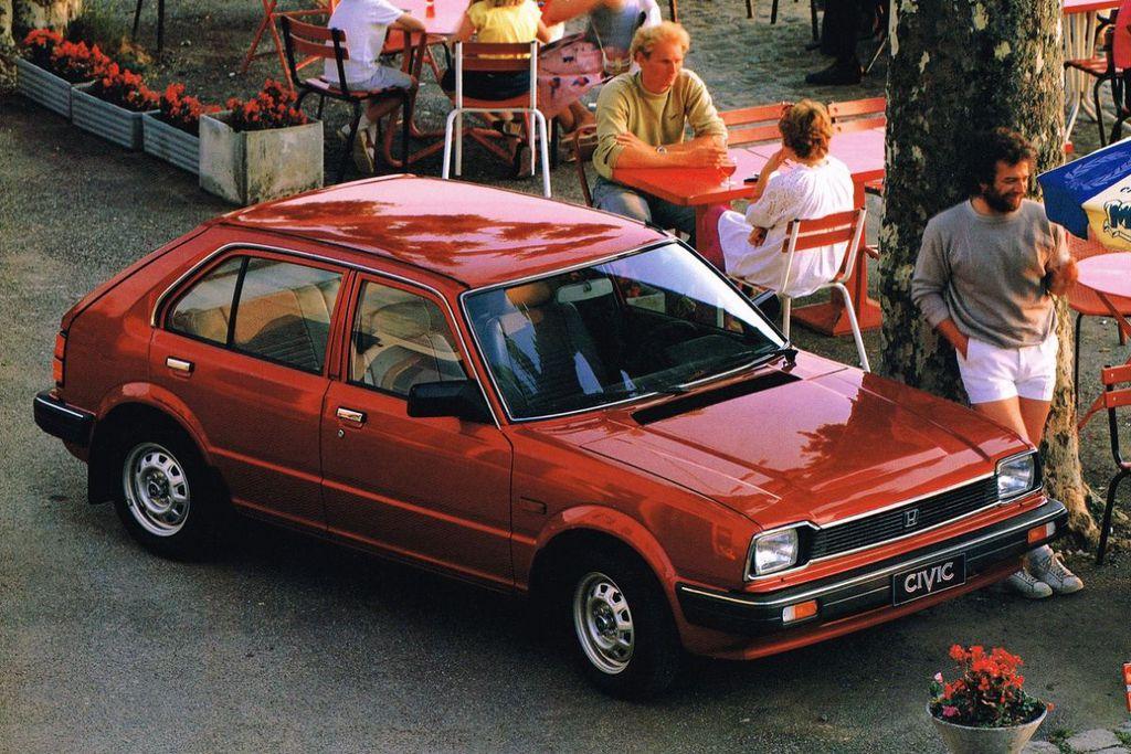 Honda Civic Luxe (1982) — Parts & Specs